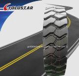 Neumático 8.25r20, 9.00r20, 10.00r20, 13r22.5 del carro del neumático del acoplado de Goldstar