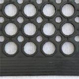 Stuoia di gomma di olio slittamento commerciale della prova di anti con il foro