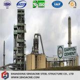 Schwere industrielle vorfabrizierte Stahlkonstruktion-Kleber-Pflanze/Kraftwerk