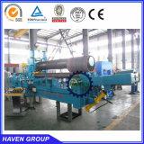 machine à cintrer de plaque de trois rouleaux, machine à cintrer W11S-12X3200 de premier rouleau hydraulique