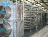 Espiral dupla freezer/IQF rápida máquina para carne Camarão alimentar