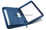 Étui d'affaires pour porte-documents en cuir véritable pour utilisation à gauche et à droite