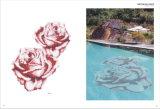 Mattonelle di mosaico di cristallo per la piscina/cucina/stanza da bagno (MA-C529)