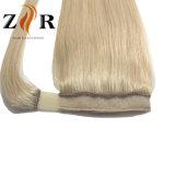 금발 색깔 #22 사람의 모발 묶은 머리 브라질 머리 연장