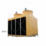 Lärmarmer quadratischer Gegenfluss-Kühlturm für Hotel