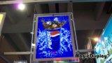 Windowsか天井のハングの水晶LEDのライトボックス
