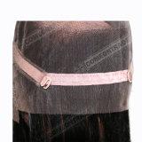 インドの人間の毛髪のかつらのバージンのRemyの女性の未加工毛360のFrontal