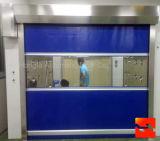 Portes rapides d'obturateur de rouleau en plastique d'action (HF-K458)
