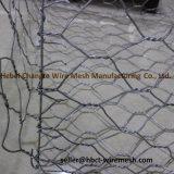 Гальванизированные шестиугольные коробки Gabion ячеистой сети