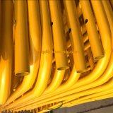 Яркий желтый барьер случая цвета