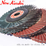 Disco di lucidatura della falda per l'acciaio inossidabile di alluminio e di legno, della plastica,