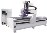 Jinan Workshop Vacuum Table Multi Spindle China CNC Router Machine
