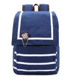 Más barato lona de las señoras de la escuela de moda bolsa de mochila estudiante (xb0914)