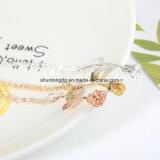 Collier 2018 van Femme van Bijoux Nieuwe Roze nam Gouden de Vrouwen van de Halsband van de Verklaring van de Bloem charmeert de MaxiGraduatie van de Juwelen van Boho van de Nauwsluitende halsketting toe