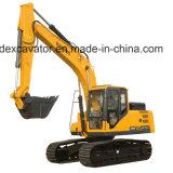 Consommation d'essence inférieure d'excavatrices hydrauliques de Baoding, haute performance