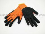 Латекс покрыл трудную защитную перчатку безопасности пользы зимы