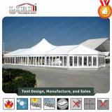 Restaurant van de Tent van de Toevlucht van de Tent van het aluminium het Vijfsterren Hoge Piek Duidelijke voor 500 Mensen