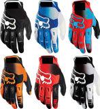 Anti motociclo di slittamento di PRO disegno bianco che corre i guanti di sport (MAG43)