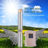 2017 Nouveau Style pas d'eau une protection intelligente de la pompe à eau solaire; Pompe Submersible eau solaire