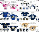 Customized Homens Mulheres Crianças Liga de Hóquei Americana Rivermen Peoria 2007-2013 Hóquei no Gelo Jersey