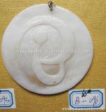 De Tegenhangers van Toebehoren DIY om Shell van de Vorm de Materiële Ring van de Armband van Juwelen