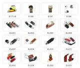 Movimentação relativa à promoção agradável da pena do USB do couro (EL015)