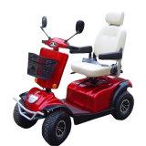 4 de wielen handicapten Elektrische Autoped met Zetel