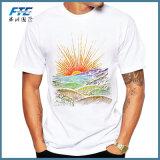 習慣の偶然レコードによって印刷される人のTシャツの不足分の袖