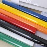 10 brillo de los colores Vinilo del traspaso térmico / PU para la ropa / deporte / camiseta
