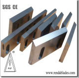 Cubierta superior gira cuchilla fija /Cuchillas para Zerma máquina trituradora de plástico