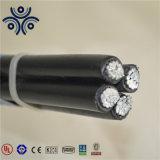 NFC33-209 ABC de Dekking AAC/XLPE van de Kabel 3*70+54.6mm2 met Boodschapper AAAC