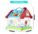 1432215-divertido de la Casa Musical piano de juguete infantil