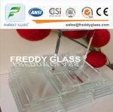 Glace 19mm de construction de bonne qualité de la glace de flotteur ultra claire