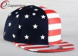Chapeau acrylique noir de Snapback de modèle des Etats-Unis de mode avec Emroidery (01199)