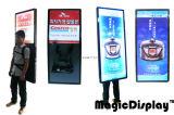 De reclame van het Lopen Aanplakbord/Lichte Doos