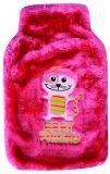 Coperchio dolce della peluche del gatto per la bottiglia di acqua calda