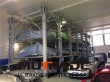 подъем стоянкы автомобилей штабелеукладчика автомобиля лифта 3 4 уровней гидровлический вертикальный