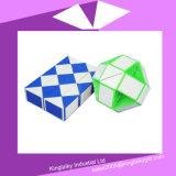 Cubo magico di plastica con il marchio personalizzato Mc016-008