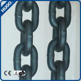 G80販売のための黒い上塗を施してある合金鋼鉄持ち上がる鎖