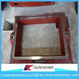 Contenitore/boccetta di modellatura di sabbia della macchina del pezzo di processo di vuoto di alta qualità