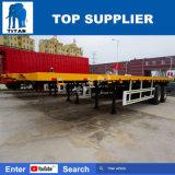 Essieux du titan 2 de 40 pi de conteneur camion de remorque semi avec la suspension de charriot