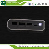 4USB 힘 은행 20000mAh 휴대용 배터리 충전기