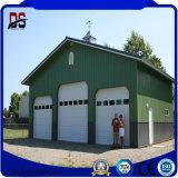 Структура Prefab высокого качества стальная для гаража автомобиля