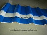 플라스틱 도와 완벽한 제품 PVC 공장과 간이 차고를 위한 빈 물결 모양 루핑 지붕널