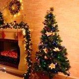 Cor de múltiplos120V UL LED Mini Natal Luz de String para o pátio e decoração de árvore de Natal