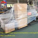 Funcionamiento de alta velocidad/estable que aspa y cortadora para el tubo de papel