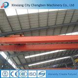 Qd tipo doble viga puente grúa utilizada en la planta de taller