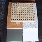 1-3mm couleur aluminium perforé Perforation couché gravé panneau unique