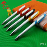 Pen Van uitstekende kwaliteit van de Ballpoint van de levering verkoopt de Kleurrijke Promotie Plastic