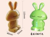 Поставка крена силы USB кролика шаржа изготовления OEM двойная (PB-YD22)